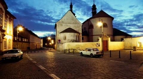 Noční Stará Boleslav