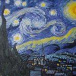 Kopie obrazu Vincenta van Gogha Hvězné nebe
