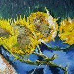 Kopie obrazu Slunečnice od Vincenta van Gogha