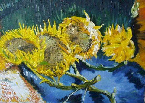 Slunečnice van Gogha