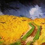 Kopie obrazu Vincenta van Gogha Pole