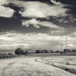 Krajinná fotografie v černobílé